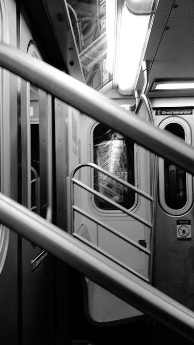 I Heart New York NYC Subway Subway Car (c) 2015 Shangita Bose All Rights Reserved NYC My Commute