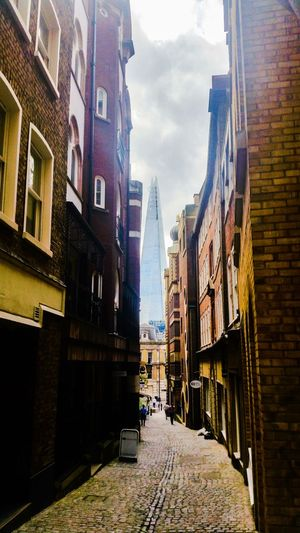 Lovat Lane, City of London with view of the Shard... Lovat Lane City Of London London Architecture Shard In The Distance... Postcode Postcards
