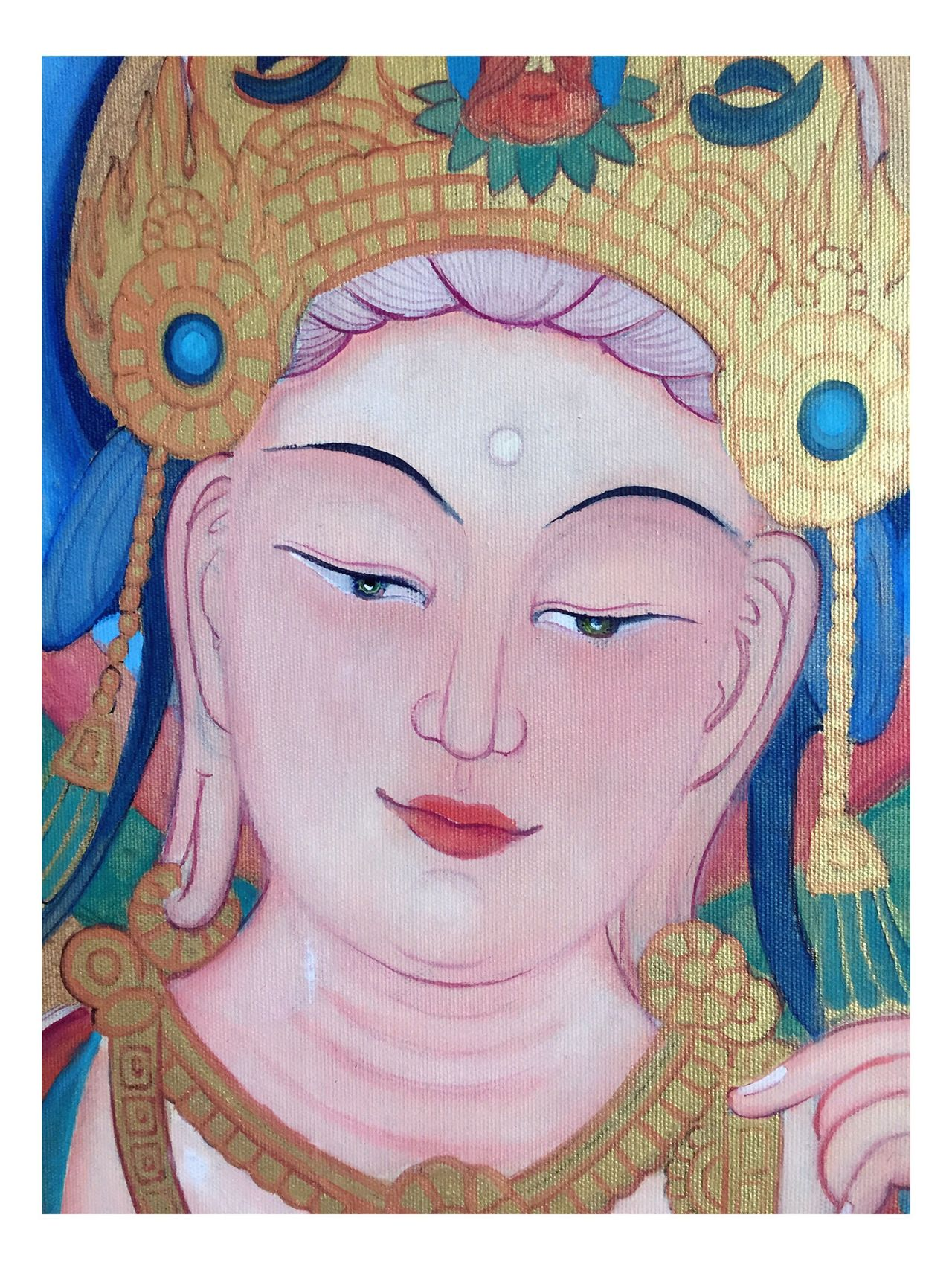 Unfinished Drawing Art Buddhism