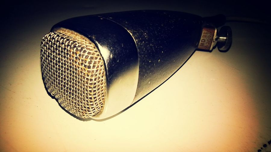old vintage microphone Getting In Touch Relaxing Enjoying Life Check This Out
