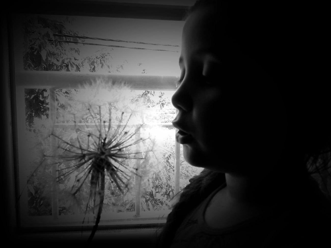 souffle mon ange et fais un voeux ♡♡♡ bon week end :) Black And White Photography Blacknwhite_perfection