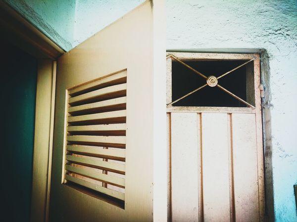 Door Doors Vintage Window Geometry Lines Open