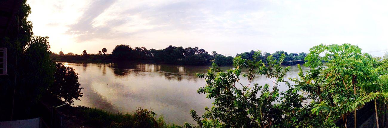 El amanecer de esta Tierra Maravillosa de Aguas Encontradas
