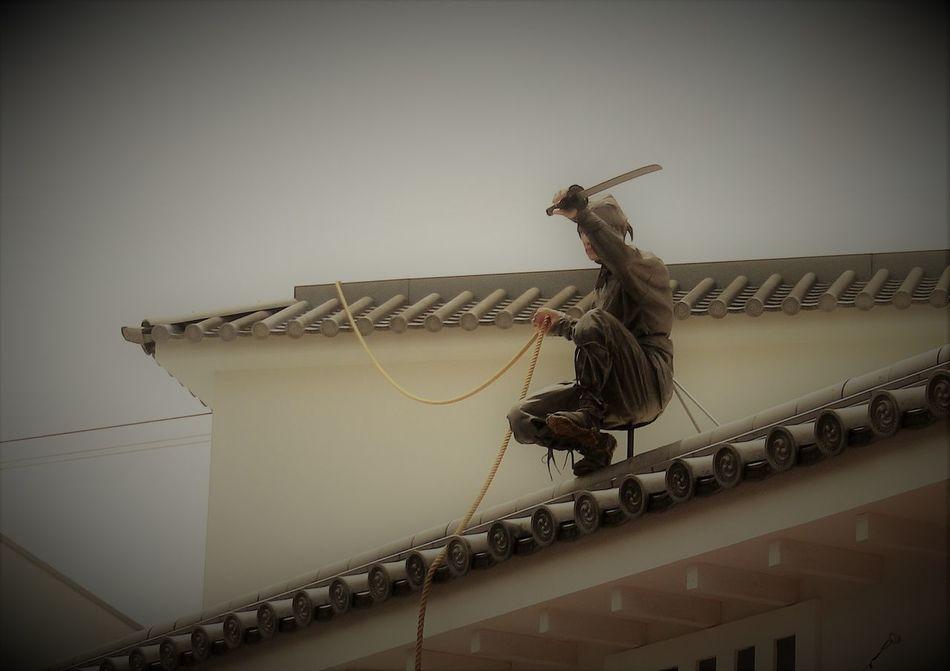 Japan Japanese  Katana Kyouto Low Angle View Ninja Samurai Sword 京都 刀 忍者