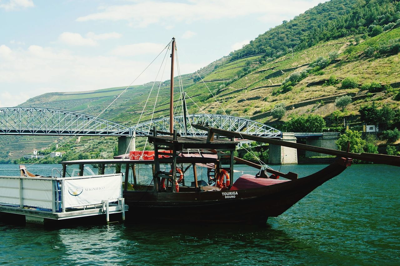 Nautical Vessel Transportation Harbor Passenger Craft Bridge - Man Made Structure Sky Outdoors Water Business Finance And Industry Day Ferry No People Ships⚓️⛵️🚢 Oporto Douro  Porto Nature Portugal Travel Destinations