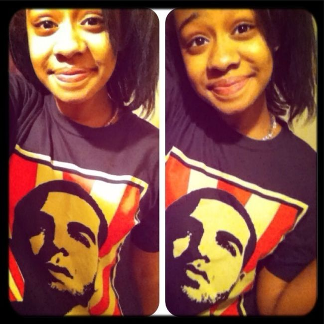 Chilling With My Drake Shirt On ;*