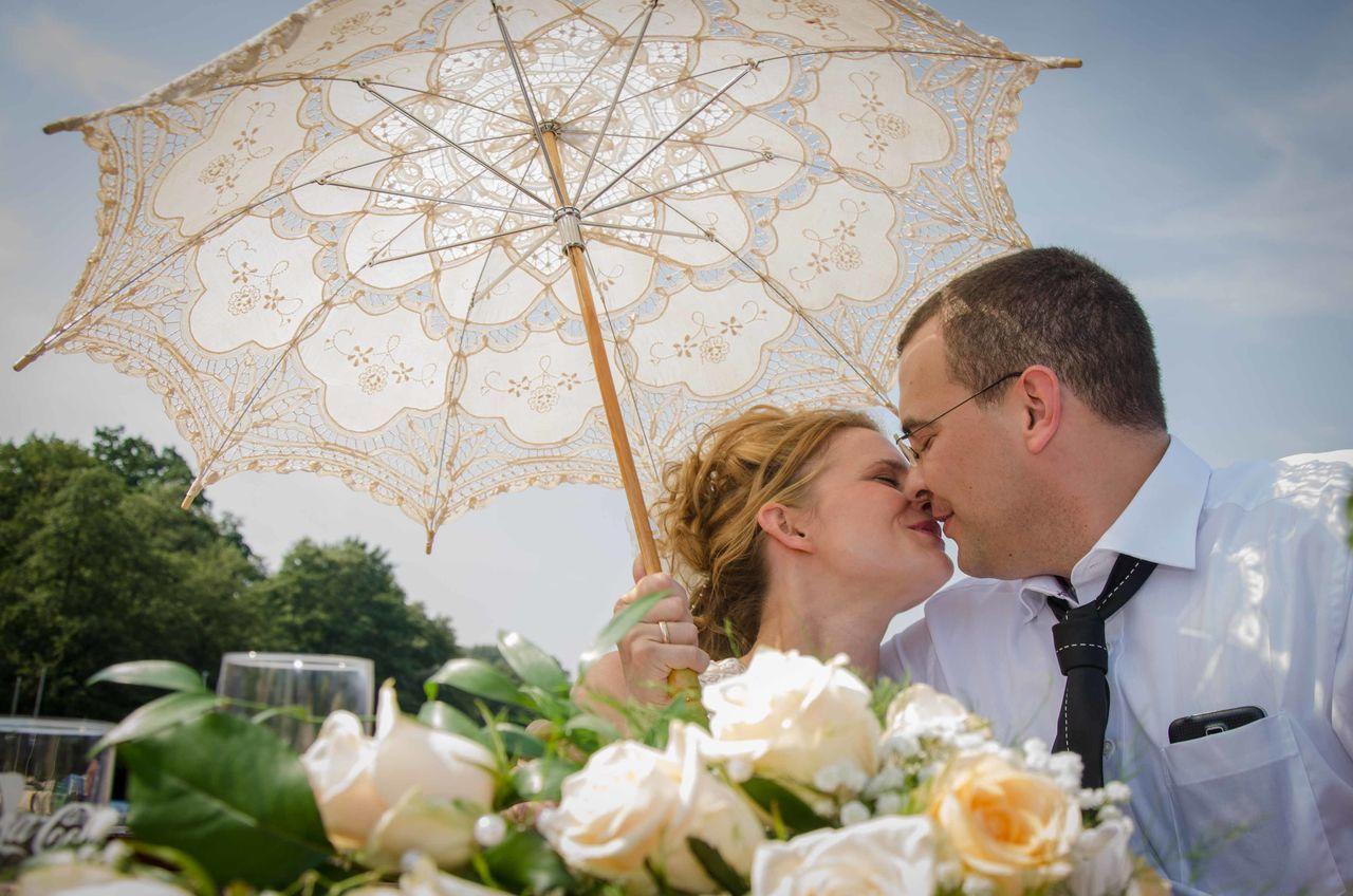 Beautiful stock photos of hochzeit, two people, bride, wedding, men