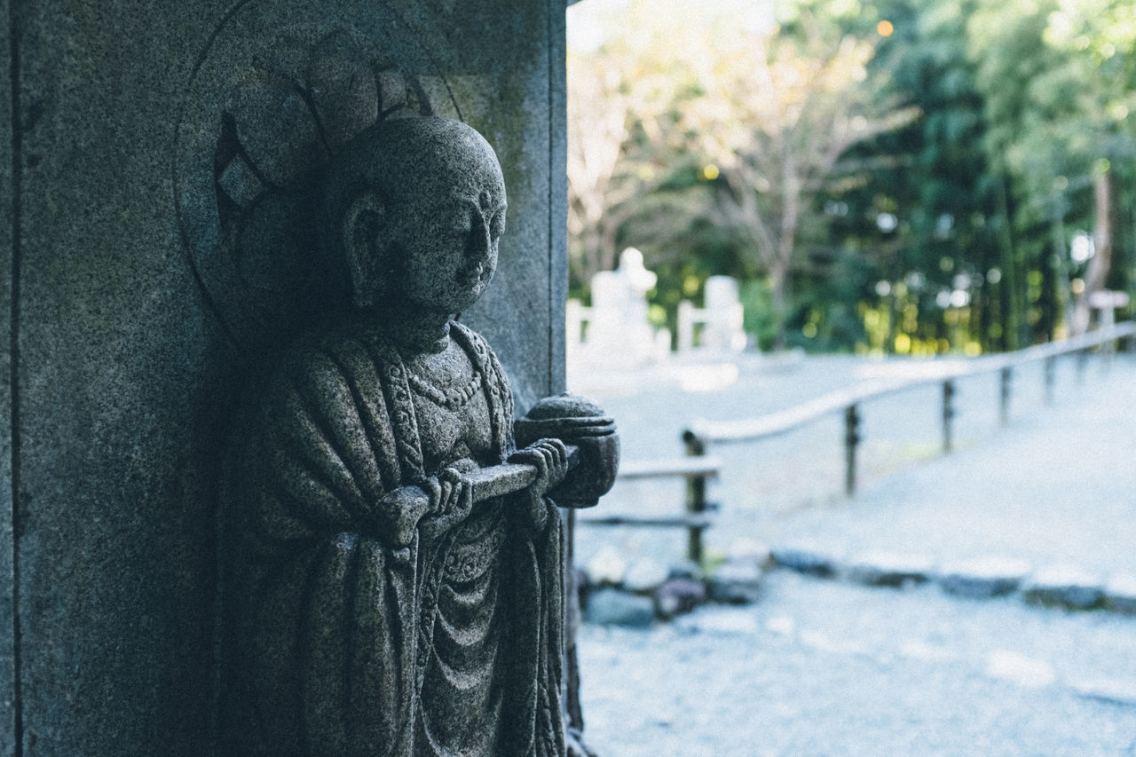お地蔵様 / Ksitigarbha Fujifilm Japan Japan Photography Jizo Ksitigarbha Kyoto City Kyoto,japan Kyouto X100S 京都