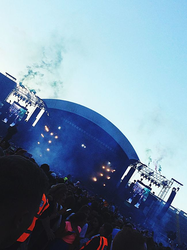 It's alright, cause tonight we're gonna paint the town green The Script CrokePark Dublin