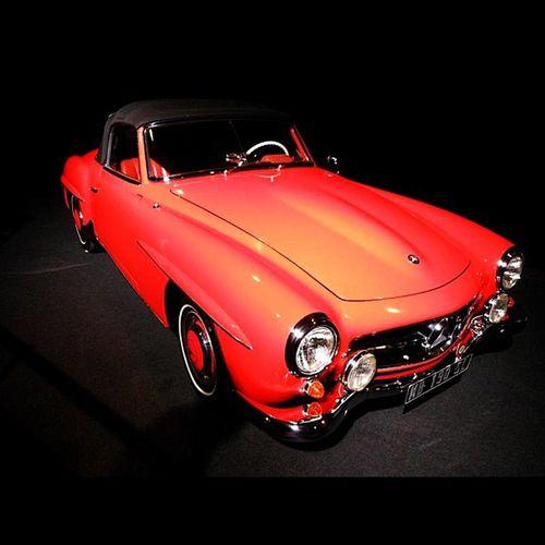 Mb Mercedes Benz Sl190 sl german cabriolet old car red