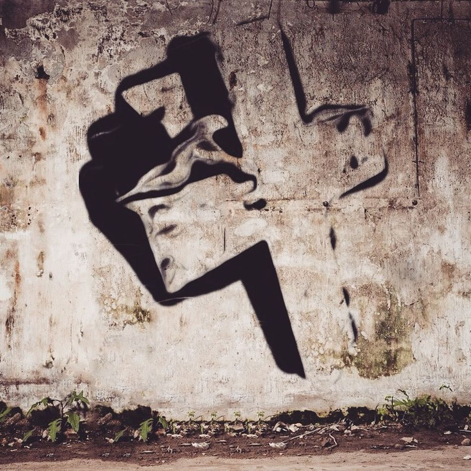 Artist D4rk23 That's Me Urban Art