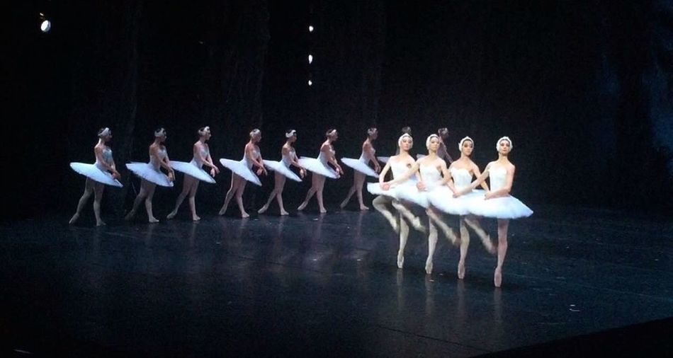 In A Row Ballet Ballet Dancer Russia Russian Ballet Ballerina Theater Art Moscow Swan Lake Swans Dance Photography Show балет балерина Россия русский балет Театр Eye4photography  Eyemphotography First Row Must See