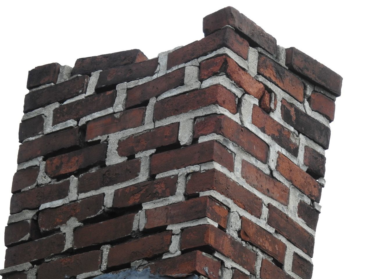 Architecture Brick Chimney Bricklayers Bricks Built Structure Chimney Chimney Bricks Chimney Stacks Chimney Tops Chimneys Dilapidated Chimney Falling Apart Falling Down In Need Of Repair Jobs Low Angle View Mason Masonry Old Chimney Run Down Unsafe