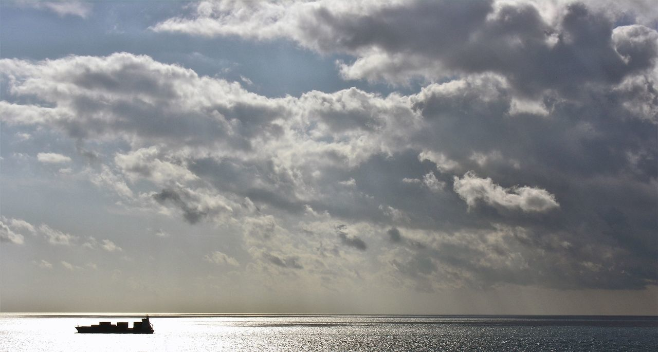 sea, cloud - sky, sky, water, nature, horizon over water, scenics, beauty in nature, tranquility, tranquil scene, day, no people, outdoors