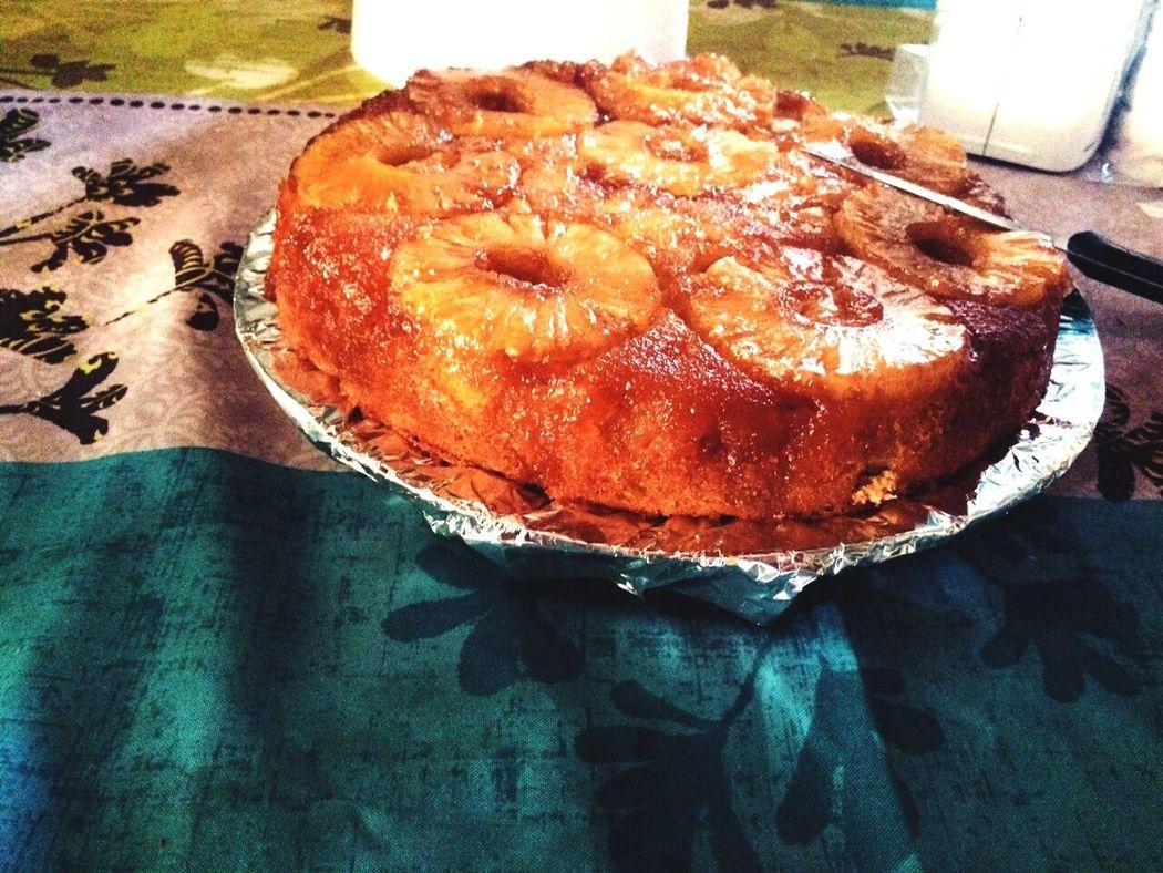 Miam! Gâteau antillais à l'ananas!