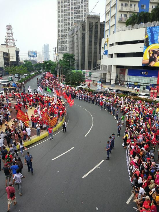 Labor Day in the Philippines. Workers demand to an end to labor flexibilization schems including contractualization LaborDayPH EyeEmNewHere EyeemPhilippines EyeEmVision 1 Art Is Everywhere Resistance  Protests