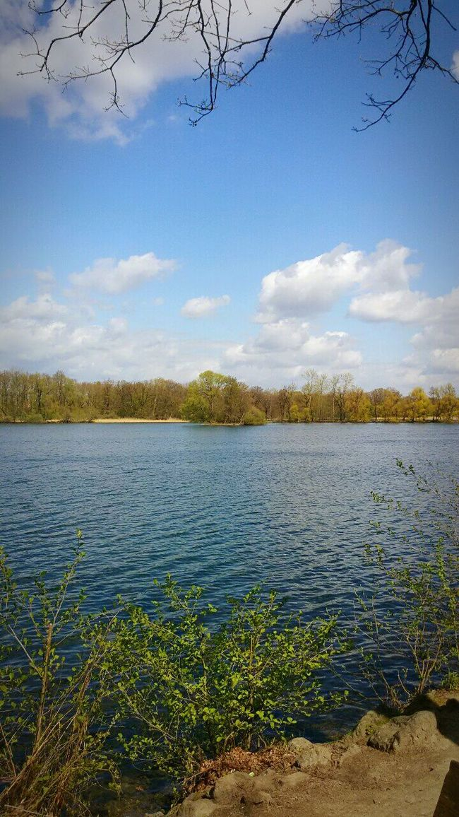 Morning glory Lake Lake View Lakeview Beautiful Day Lovely Weather Peace And Quiet Relaxing Brunswick Braunschweig