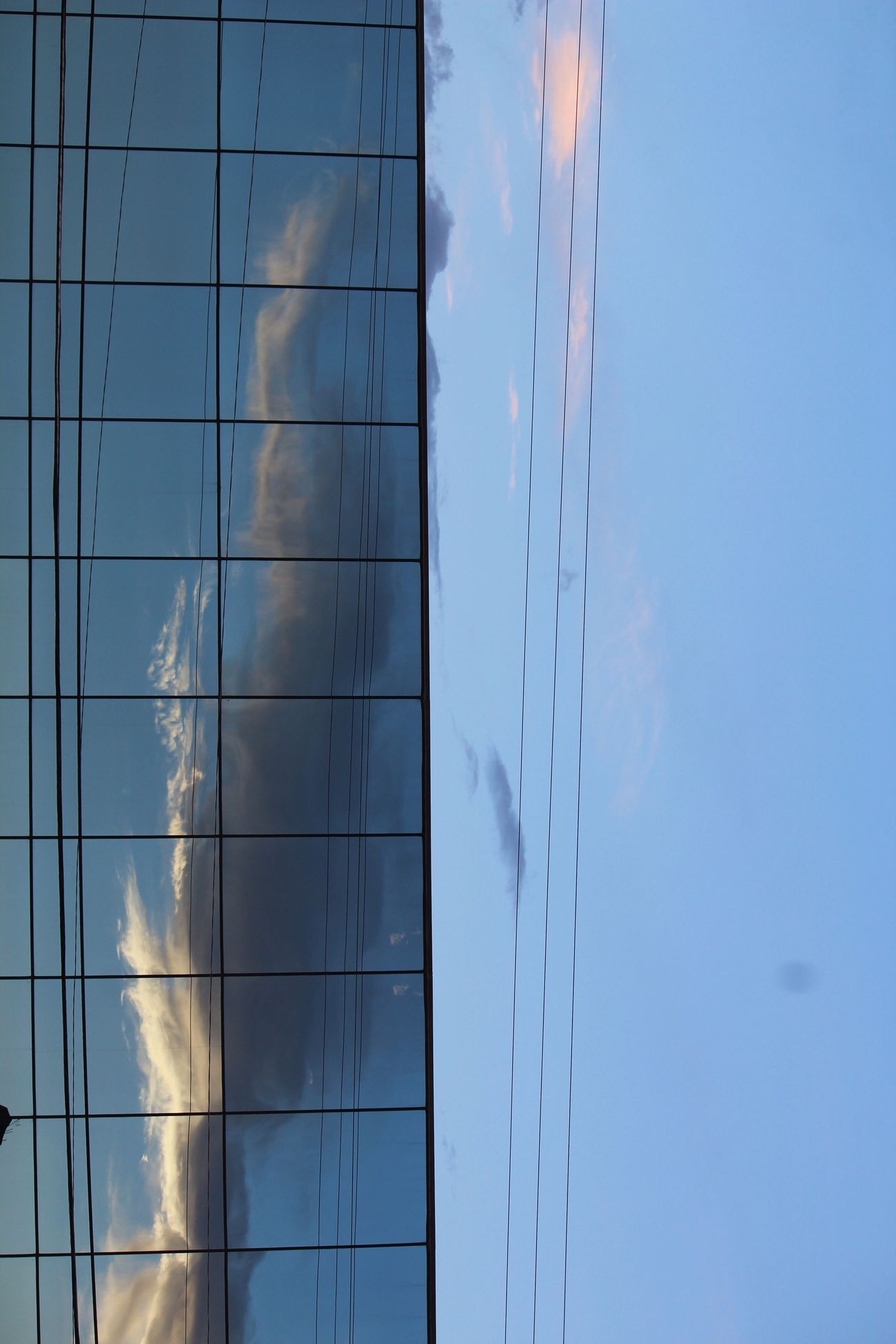 People And Places Downtown El Paso Texas Skies Cityscapes Blue Reflection