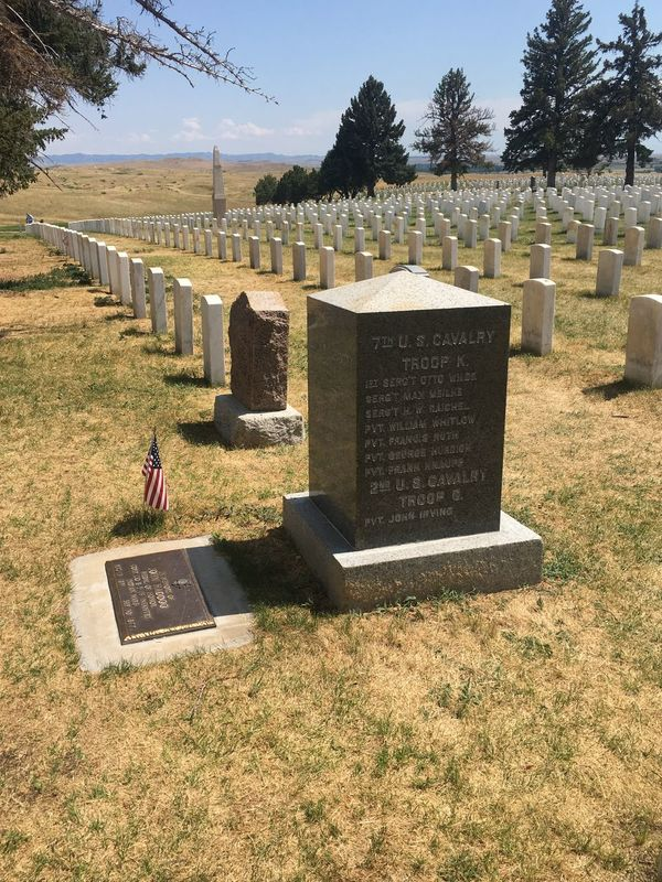Tombstone Cemetery Memorial Grave Tree Day Outdoors Graveyard Gravestone One Person Sky Women Grass Nature People Custer's Last Stand