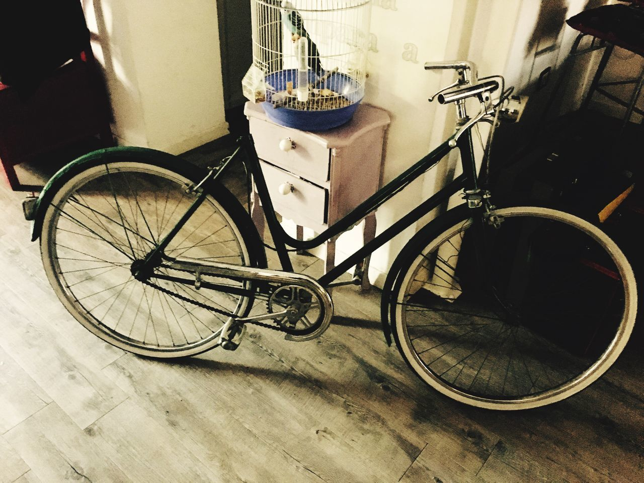 Bicycle Transportation Mode Of Transport Stationary Land Vehicle No People Outdoors Day