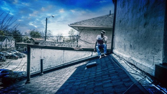 Roof Days Rooftop Blueskys Summerhaze Bestfriend