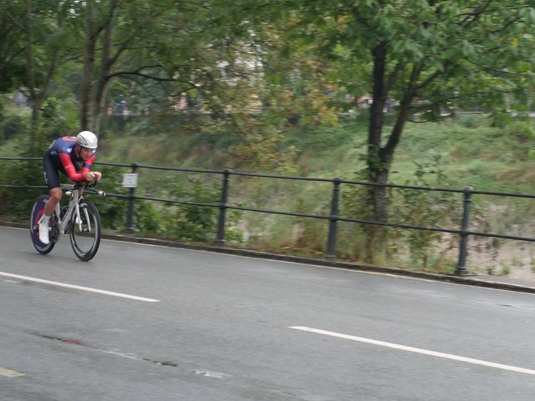 Bristol Tob2016 Spectator Time Trialling Tour Of Britain Blurred Motion Time Trial Cycling Sports Bicycle Team Wiggins Sport