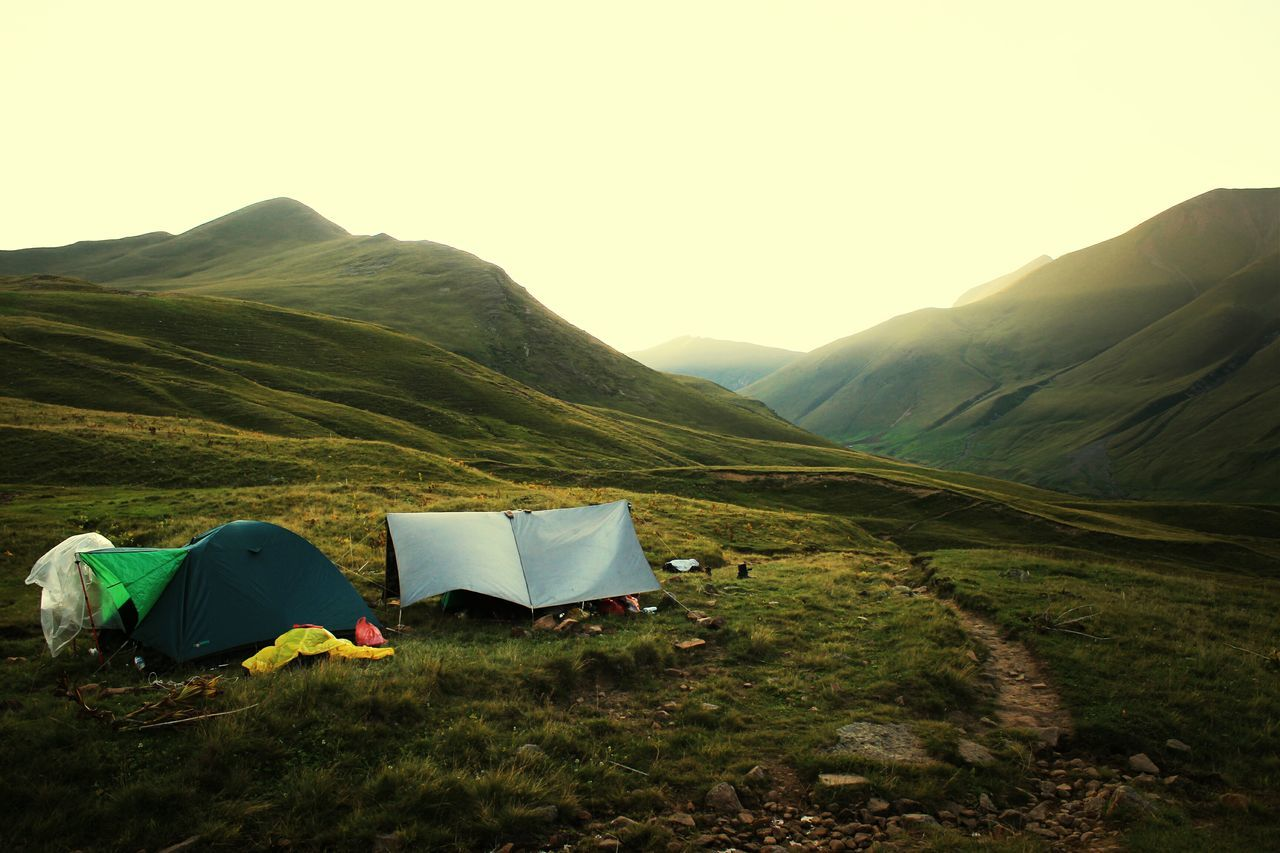 Beautiful stock photos of camping, Beauty In Nature, Clear Sky, Copy Space, Day