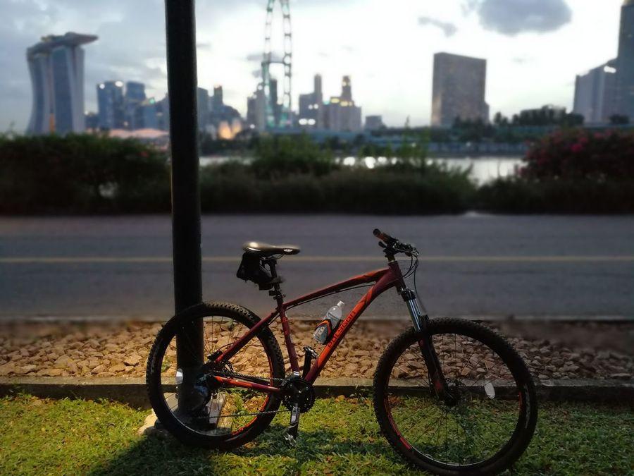 First Eyeem Photo Singapore bike Bike hardtail Hardtail Scenery