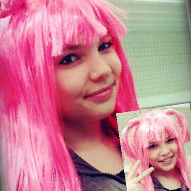 Pink Girl Cute Japangirl fashionista haveaniceday kawaii lovely likegirl hair pinkhair ilikeit crazy baby have_a_nice_day ashan
