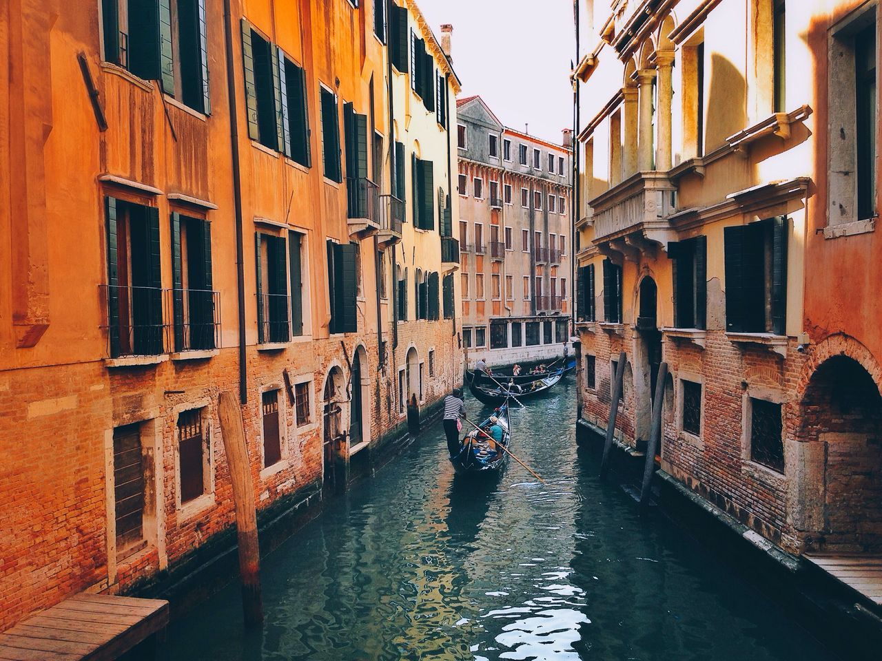 Colorful City Italy Love Cityscape City Life Gondola Built Structure Building Building Exterior Architecture Gondola - Traditional Boat Water Colors Sunset Sunlight Light And Shadow Landscape Lifestyles Life Travel Transportation Outdoors People View