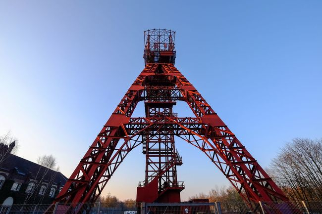 Mining Mining Heritage Mining Industry Tower Wide Angle