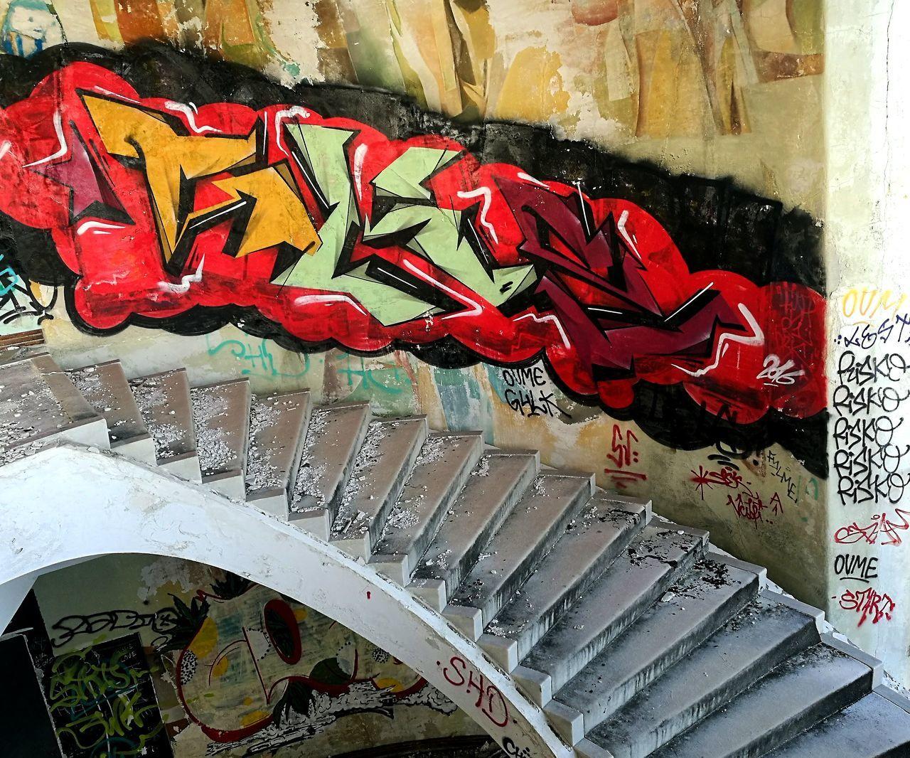 No People Outdoors Monsanto Lisboa Built Structure Streetphotography Morning Run Graffiti The World Grafitti