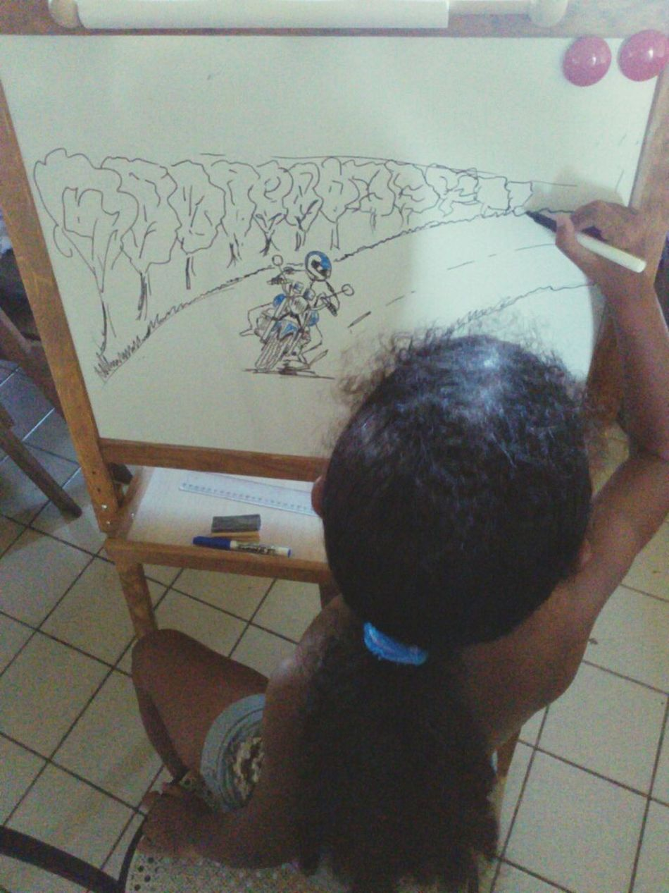 My little sister is an artist. Graphicart Drawingtime Family Forever Young Pure Talent