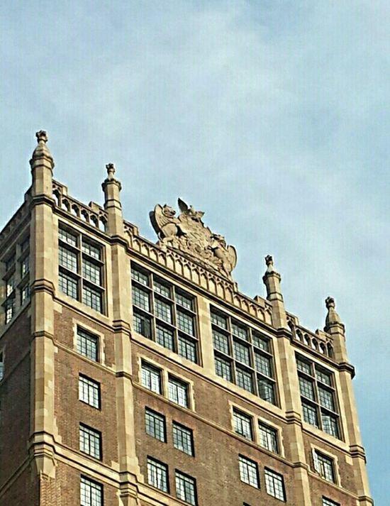 The sky's the limit! Gargoyles Gargoyle NYC Photography Tudor City Amazing Architecture Arcitecture Architecture Nyc