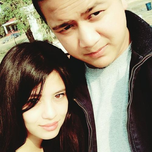 Two People Looking At Camera Togetherness Having Fun ♥ Taking Pictures Check It Out Taking Pictures Meghalaya Shillong Having Fun :) Mybaby Love❤ With My Boyfriend <3