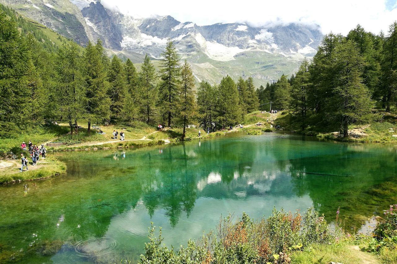 Enjoying Life Relaxing Lagoblu Mountains Cervinia Like4like Italy❤️ Valledaosta EyeEmNewHere