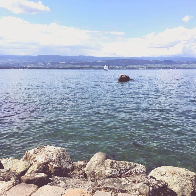 Nature Landscape Hautesavoie Lake Lakescape Lakeview Lac Léman Leman Lake