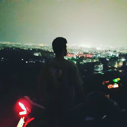 Punecity 🌁 Nightview with my beast i can go anywhere