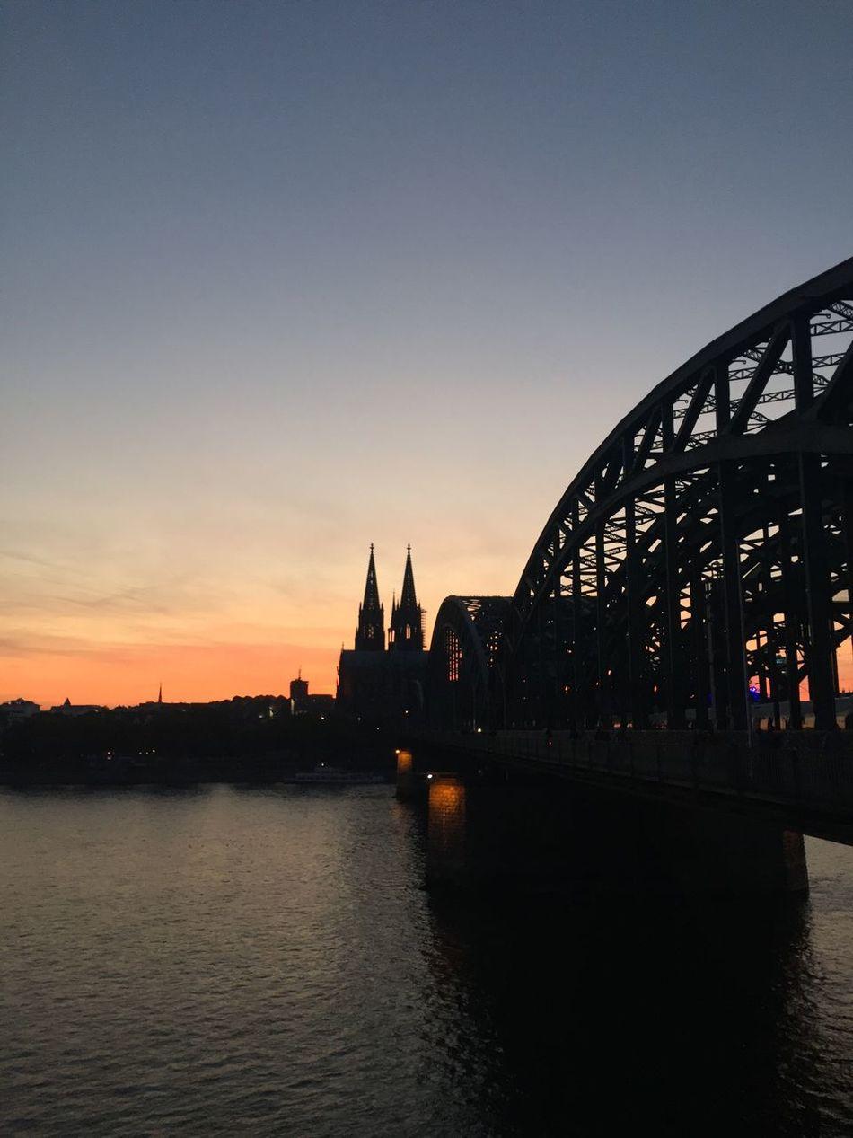 Oh Köln, I have missed you. Architecture Sunset River Köln Photokina2016 Kölner Dom Silhouette