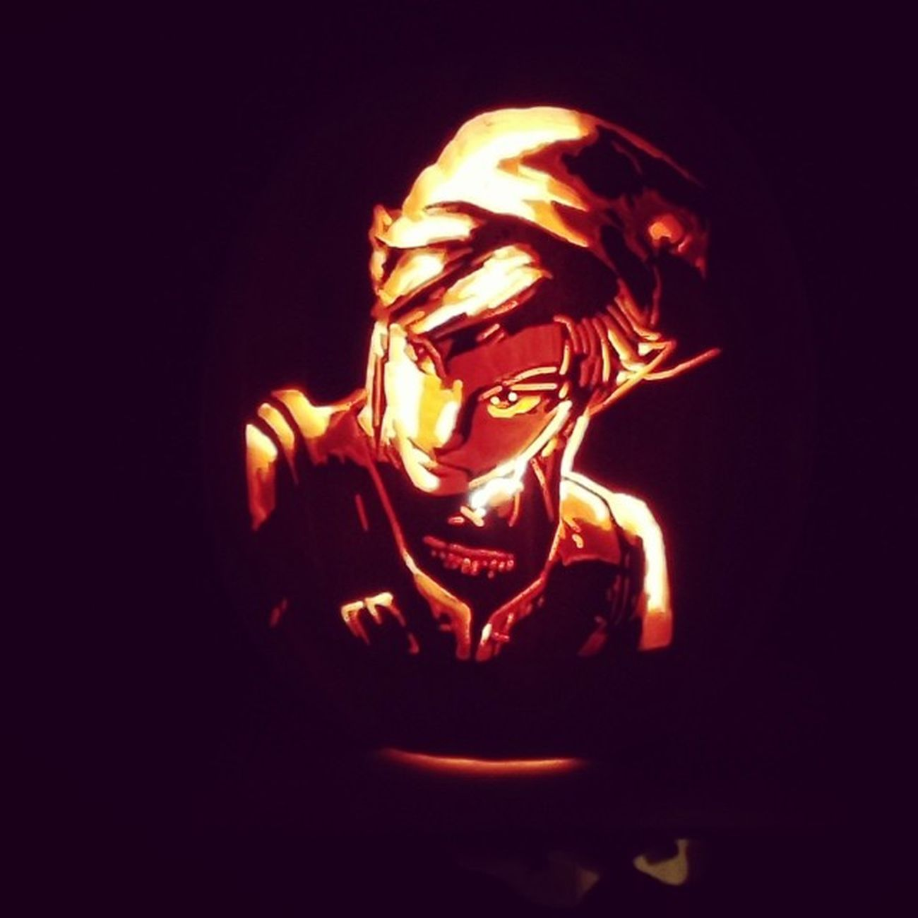 Link jack o lantern Perfect Zeldanation Zelda Loz therise