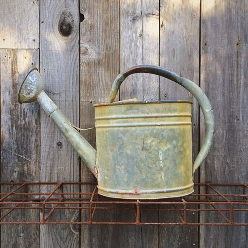 Learn & Shoot: Simplicity Watering can Tools Gardening Water Nurture  Still Life Outdoors Rustic Rusty Oxidation Wateringcan Watering Can Watering
