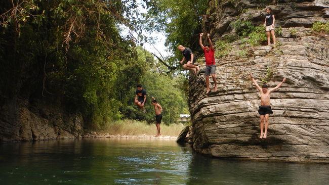 Squadgoals Adventure Adventure Buddies Cliffjump CliffJumping Countryside Nature Outdoors River Riverbank Scenics Squadgoals Vacations