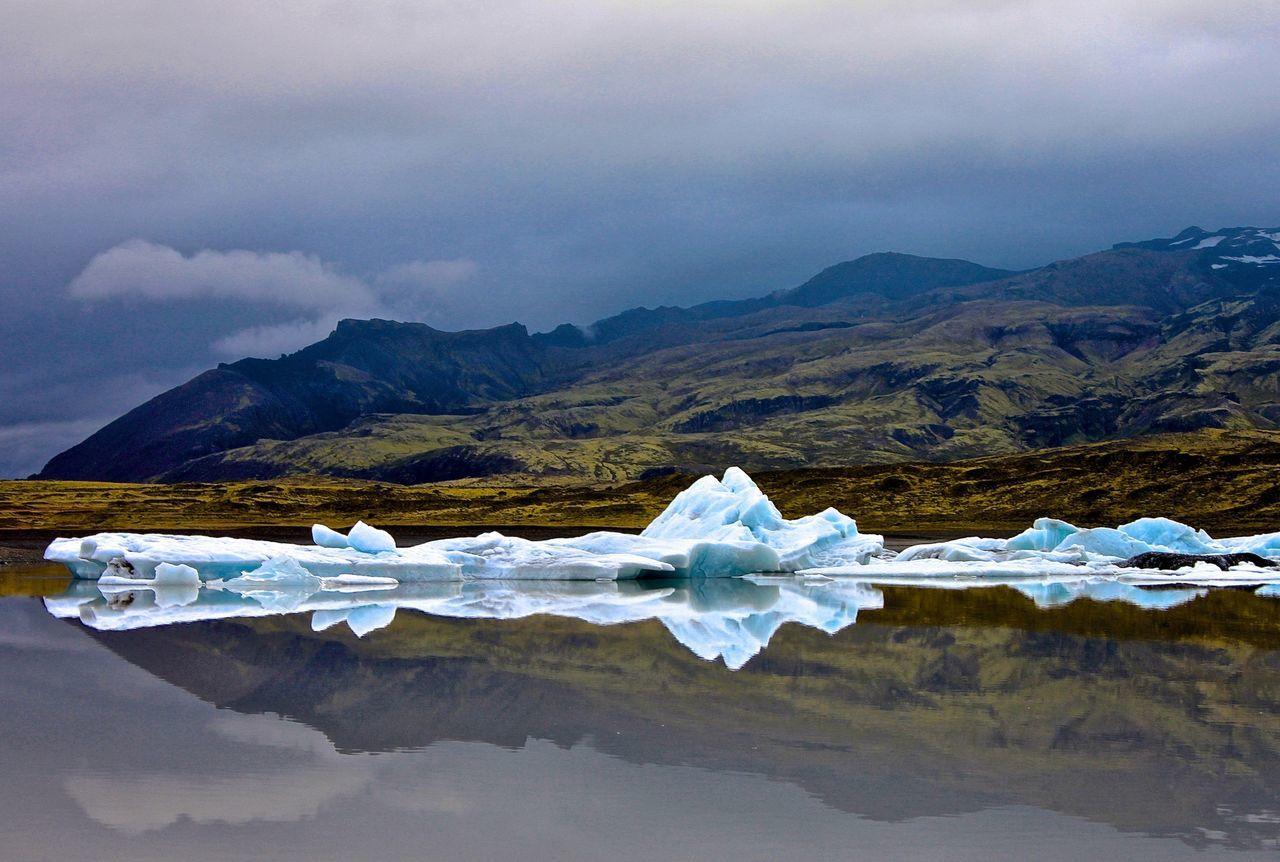 Fjallsárlón at Vatnajökull Glacier Vatnajökull Vatnajökull Glacier, Iceland Glacier Vatnajokull Gletscher Iceland Spiegelung Nature EyeEm Nature Lover Island Glacier How Do You See Climate Change? My Best Photo 2015