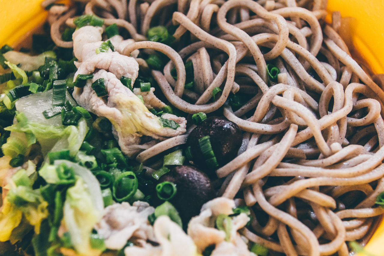 Silicon Steamer Arrangement Chinese Cabbage Close-up Cooking Eat Food And Drink Freshness Green Onion Healthy Eating Healthy Lifestyle Hot Japanese Food Long Onion Meat On A Health Kick Pork Soba Soba Noodles Soup Stew Vegetables Winter Yellow Yummy