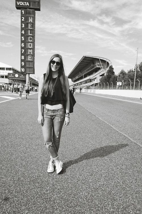 Welcome Circuit De Catalunya Formula 1 Grand Prix  SPAIN Barcelona Montmeló Driving Race