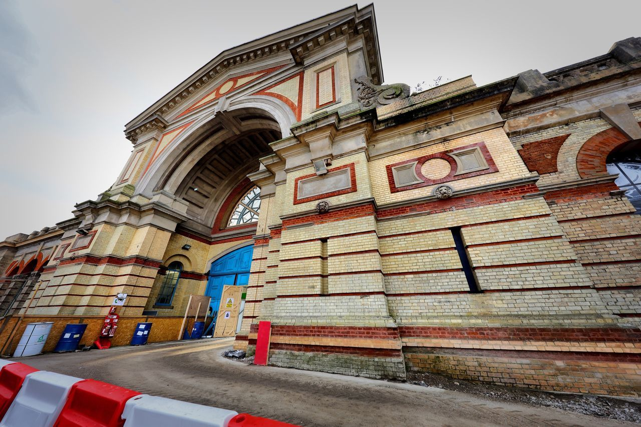 Alexandra Palace Restoration Building Exterior Architecture Built Structure Low Angle View Sky Outdoors Day No People