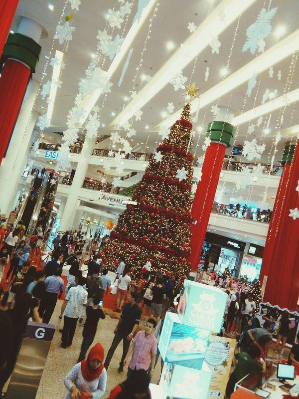 Showcase: December Christmas Tree Christmas Decorations Christmas Lights Merry Christmas Berjaya Times Square People Together