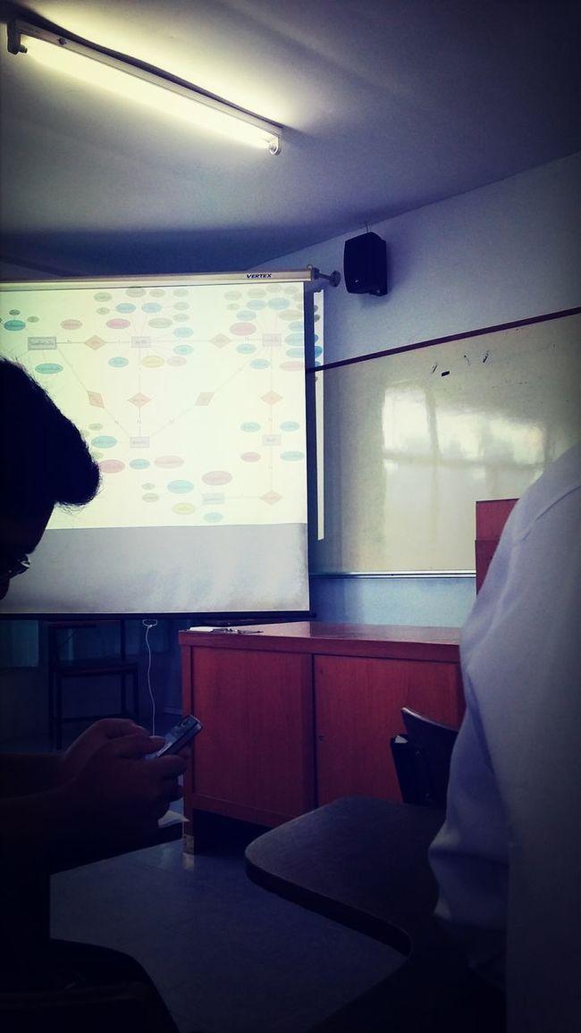 E.R.diagram. Studying