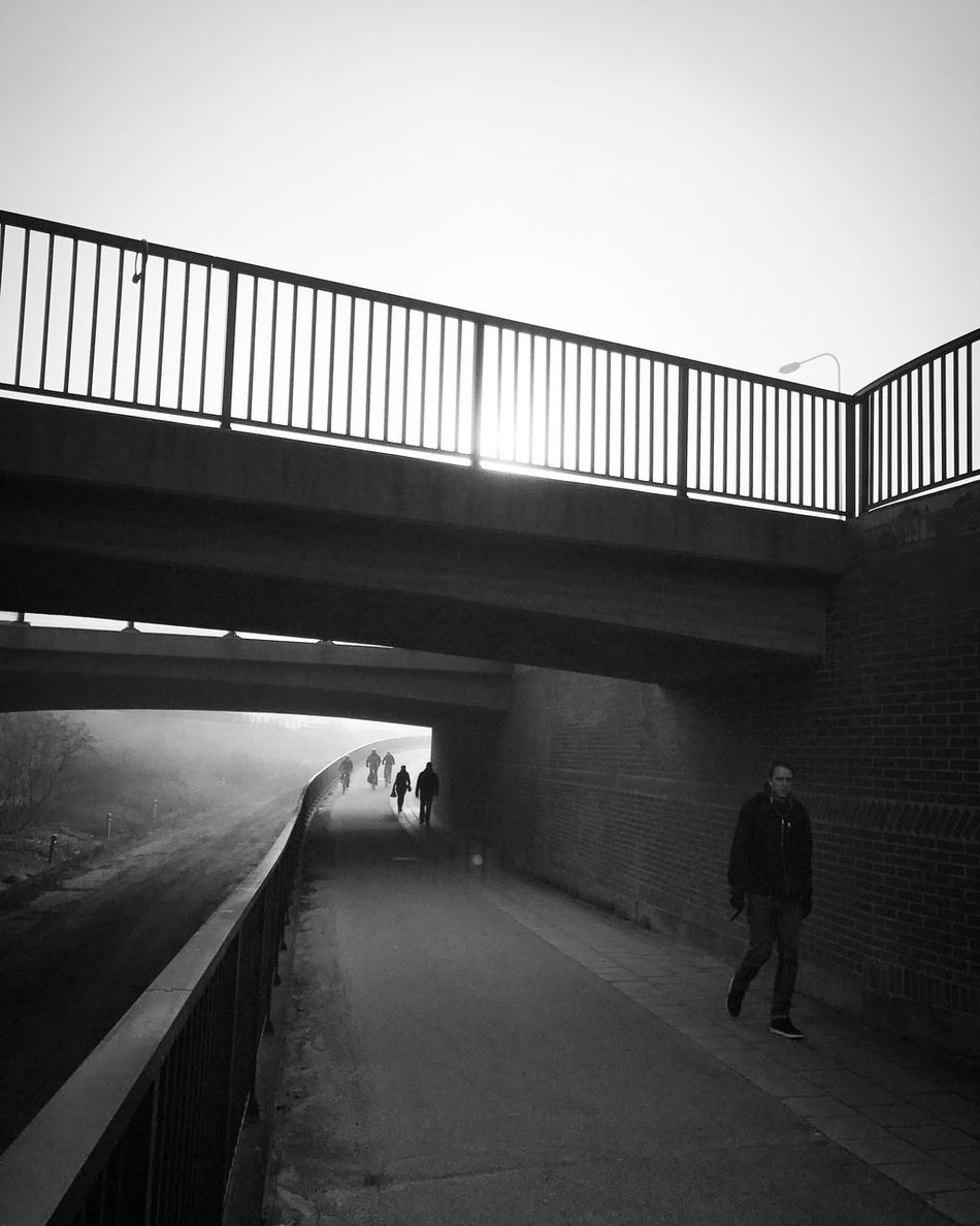 Walking Monochrome Bw_collection Black And White Street Photography Silhouette