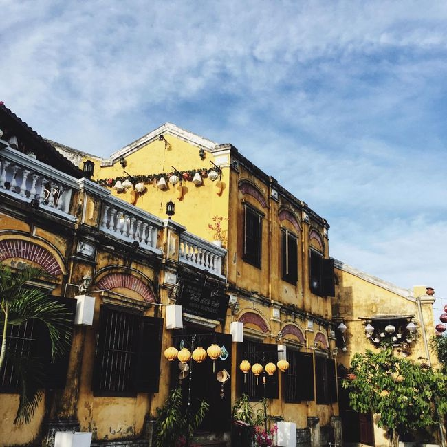 Hoi An Vietnam Travel Destinations Oldbuilding Vacations